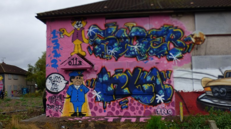 The Graffiti Jam has and attracted more than 100 artists from across the country.