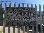 Constable Street allotment off Hessle Road is a diverse community space.
