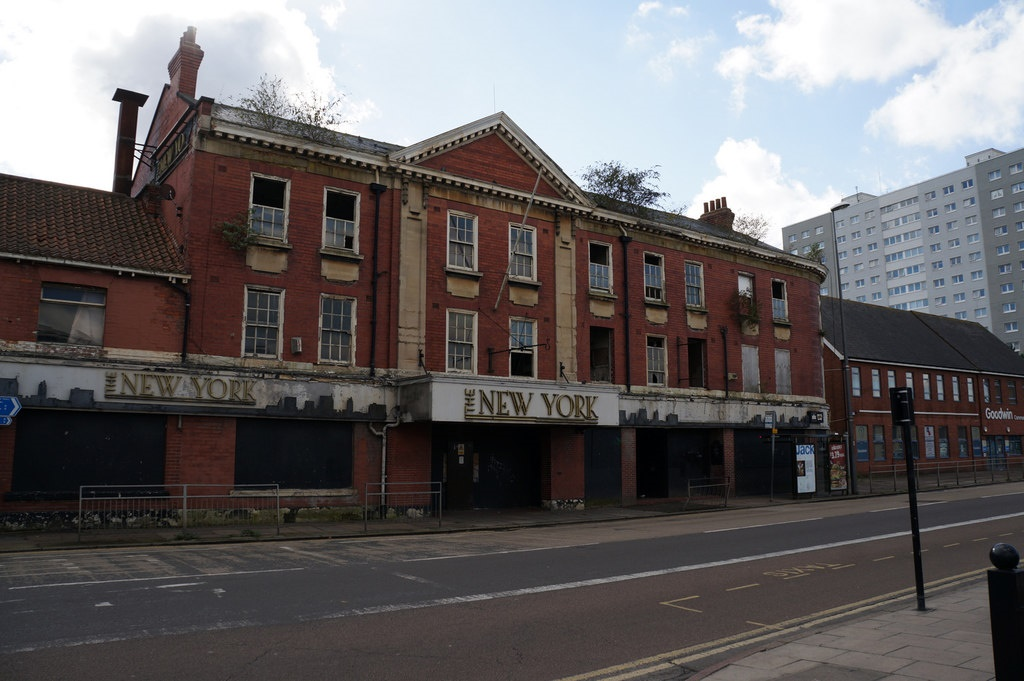 The former New York Hotel in Anlaby Road, Hull.