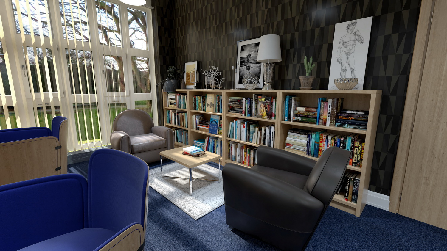 One of the rooms inside the Endsleigh Park development.