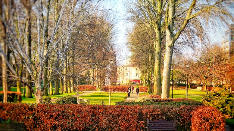 Queens Gardens in Hull city centre.