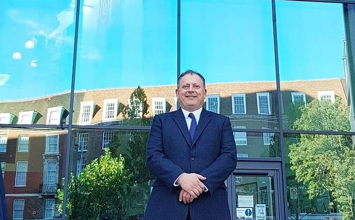 James Dickinson, head of Hull Music Service, outside the Albermarle Music Centre.