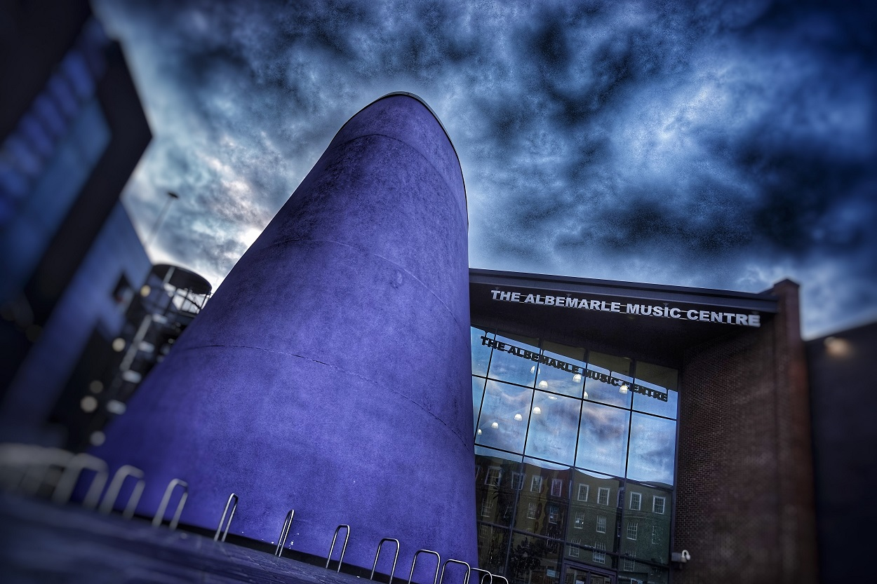 The Albermarle Music Centre in Ferensway, Hull.