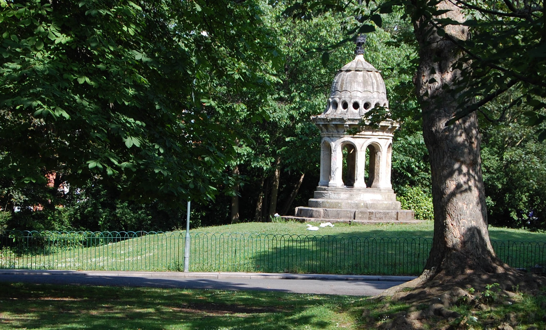 Pearson Park in Hull.