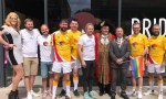 Councillor Steve Wilson, Lord Mayor and Admiral of the Humber, at a Pride in Hull pop-up in Humber Street. Picture courtesy of Pride in Hull
