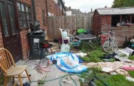Candarrell MacMillan was fined £920 for untidy land
