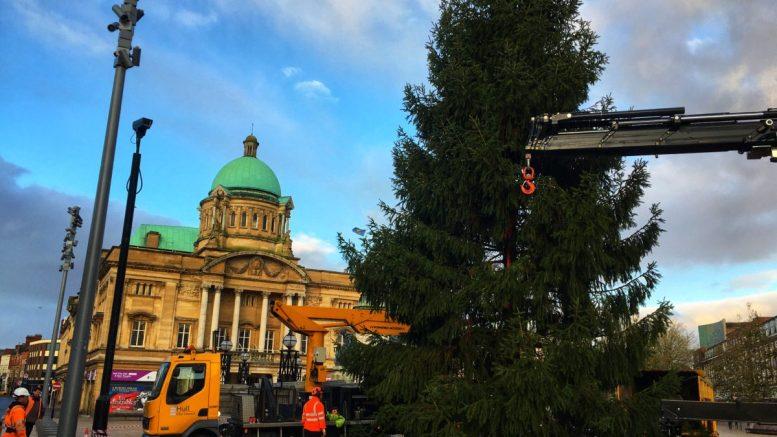 Hull Christmas tree 2019