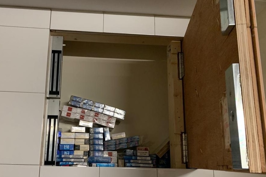 Illegal cigarettes found in Hull