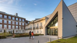 The exterior of RB's £105m science and innovation centre