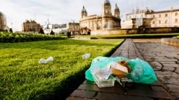 Litter in Hull