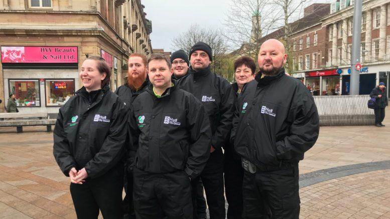 Litter enforcement officers
