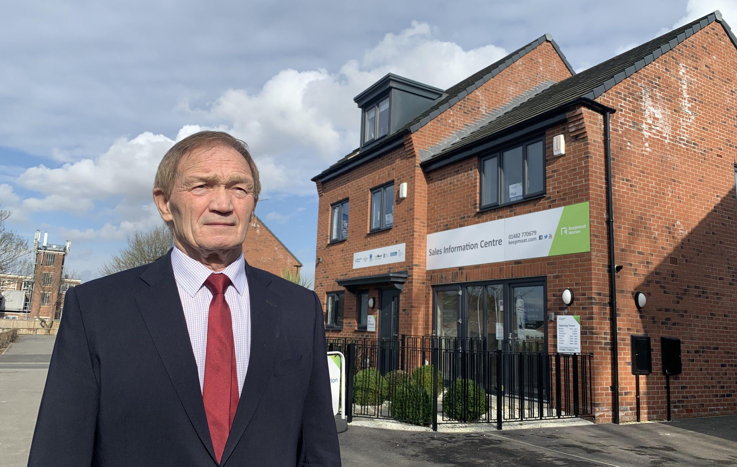 Councillor John Black, Hull City Council's portfolio holder for housing.