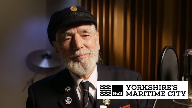 D-Day war veteran Jim Radford.