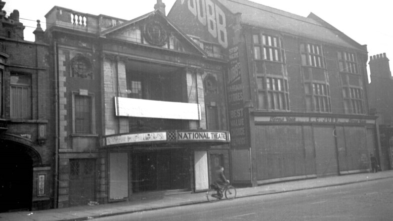 The National Picture Theatre in Beverley Road