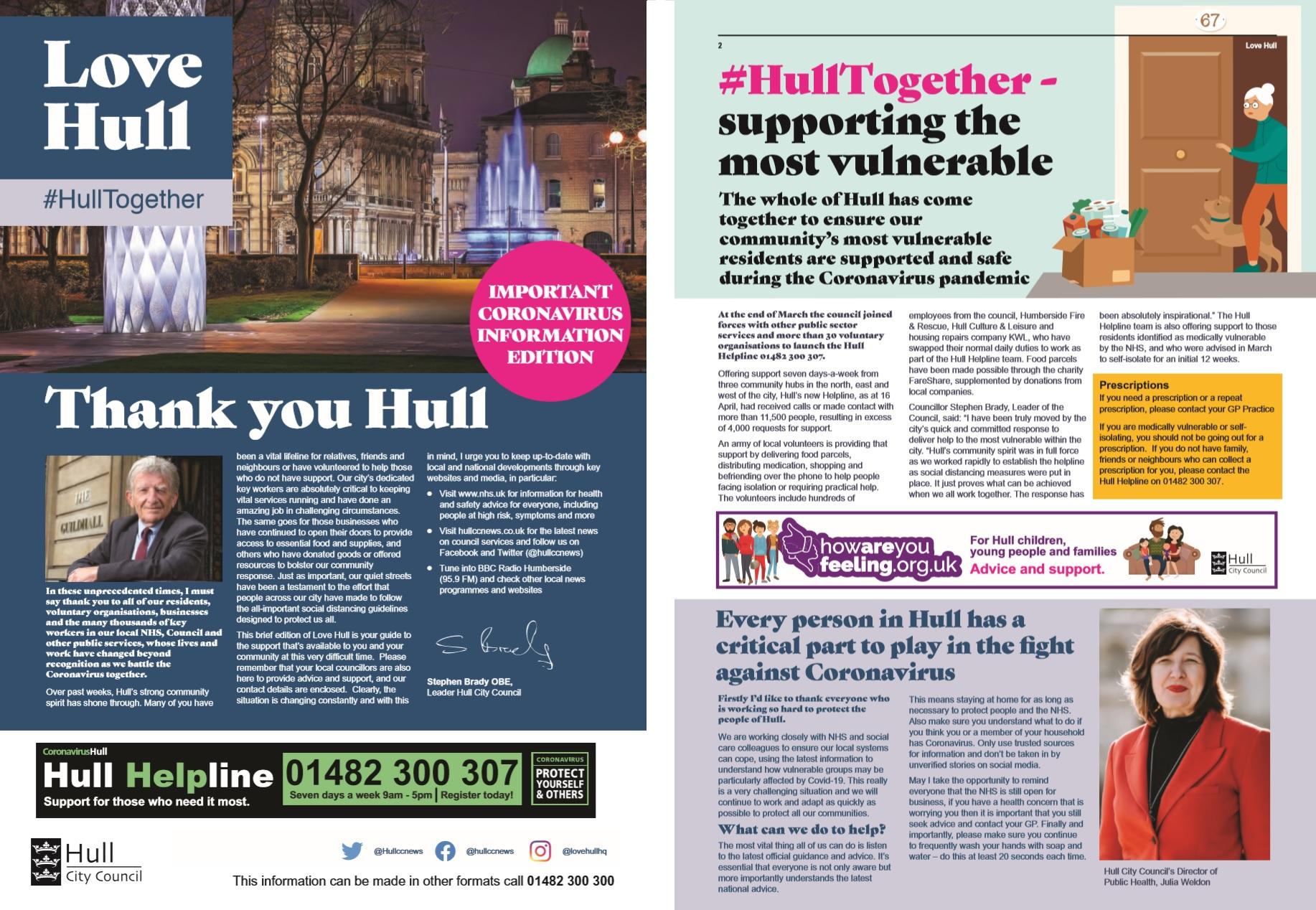 Love Hull magazine