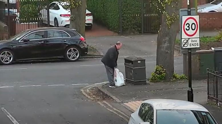 Fly-tipping Ena Street