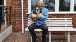 Nigel and his dog