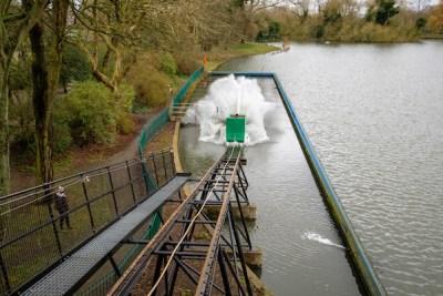 Splash boat makes a return to East Park