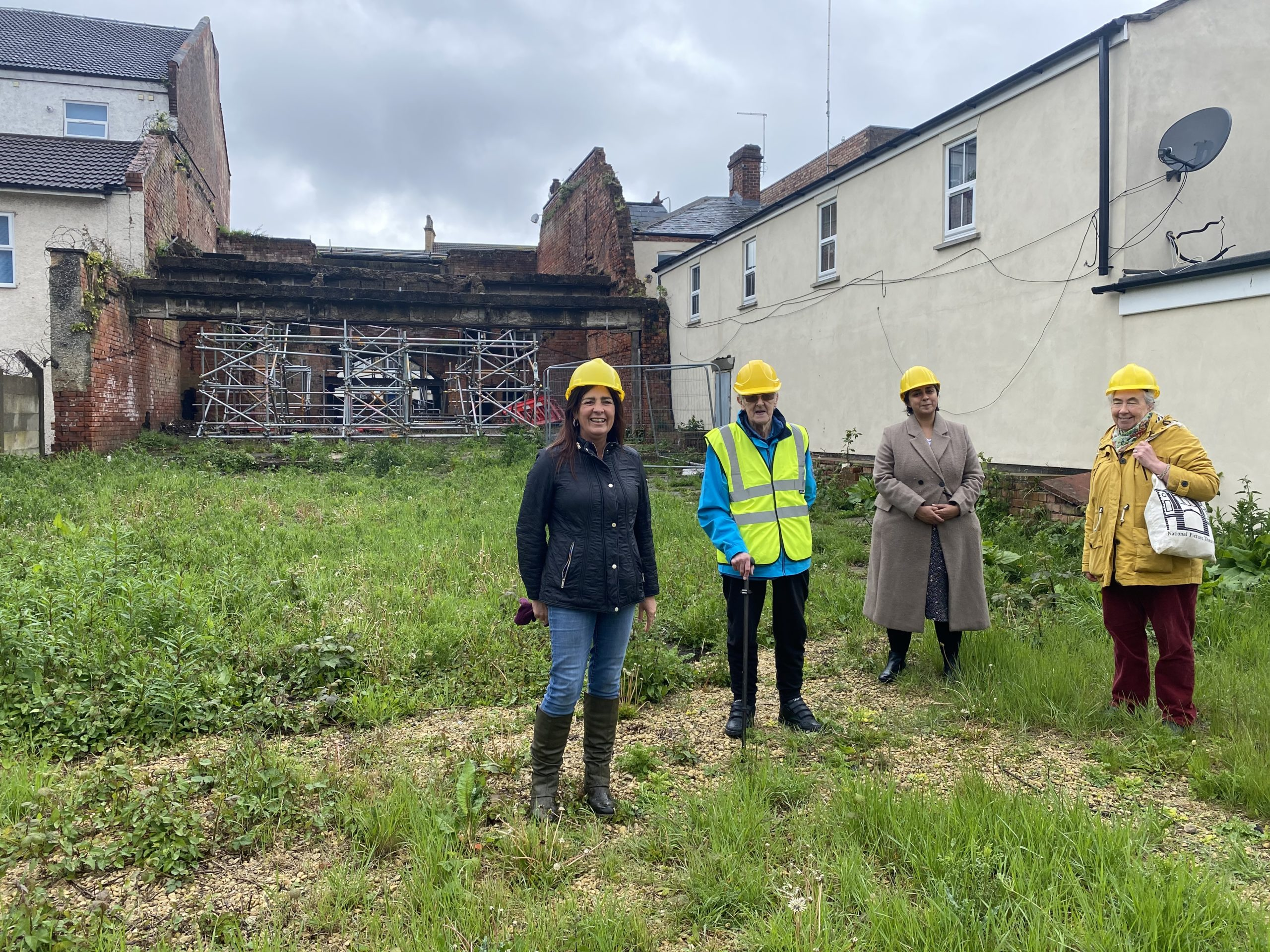 Members of the National Picture Theatre project team can now prepare to start work on site.
