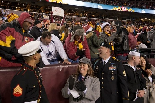 Redskins Salute to Service
