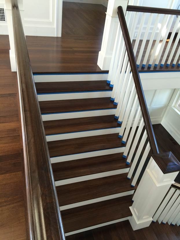 Custom Stairs Hull Forest Products Made In Usa Since 1965 | Prefinished Walnut Stair Treads | Hardwood Lumber | Hardwood | Wood Stair | Stair Parts | Brazilian Walnut