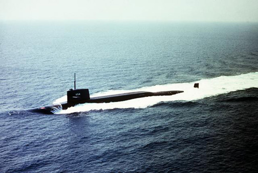 USS GEORGE C MARSHALL SSBN654 Deployments  History
