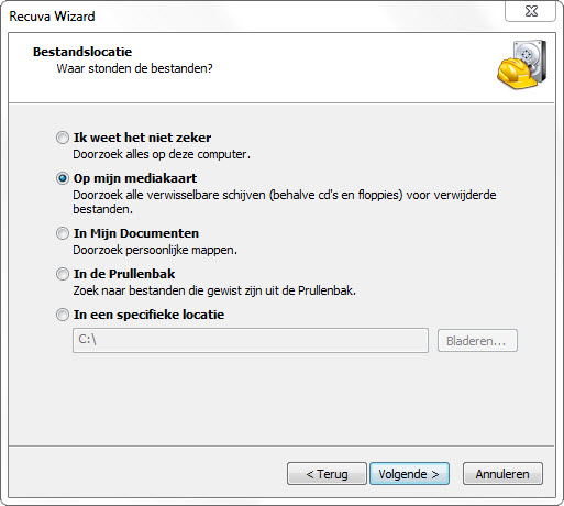 Recuva2-hulp met computer.nl