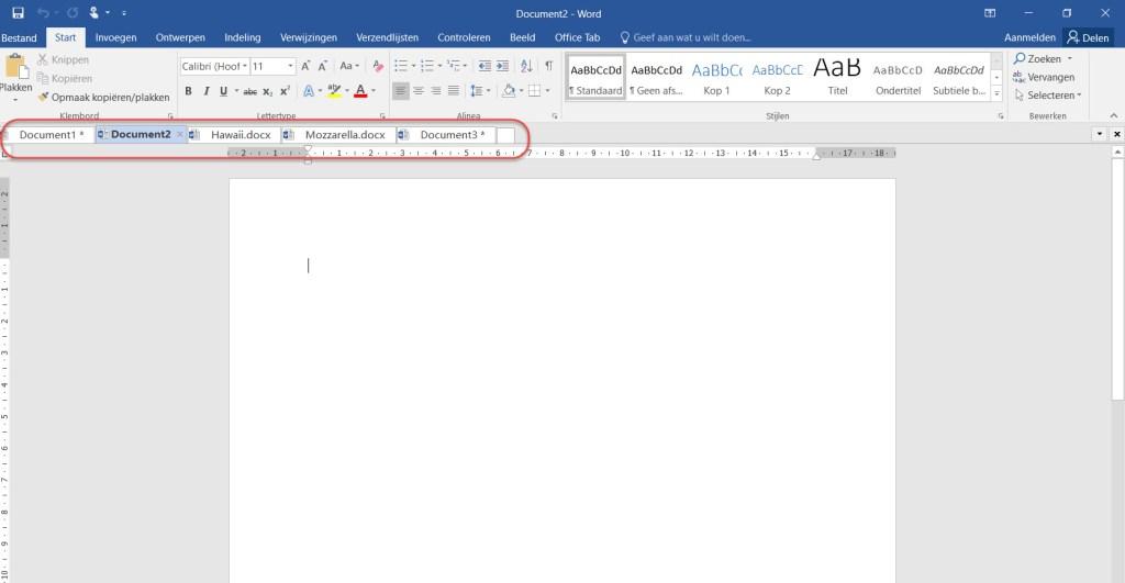 office-tabs