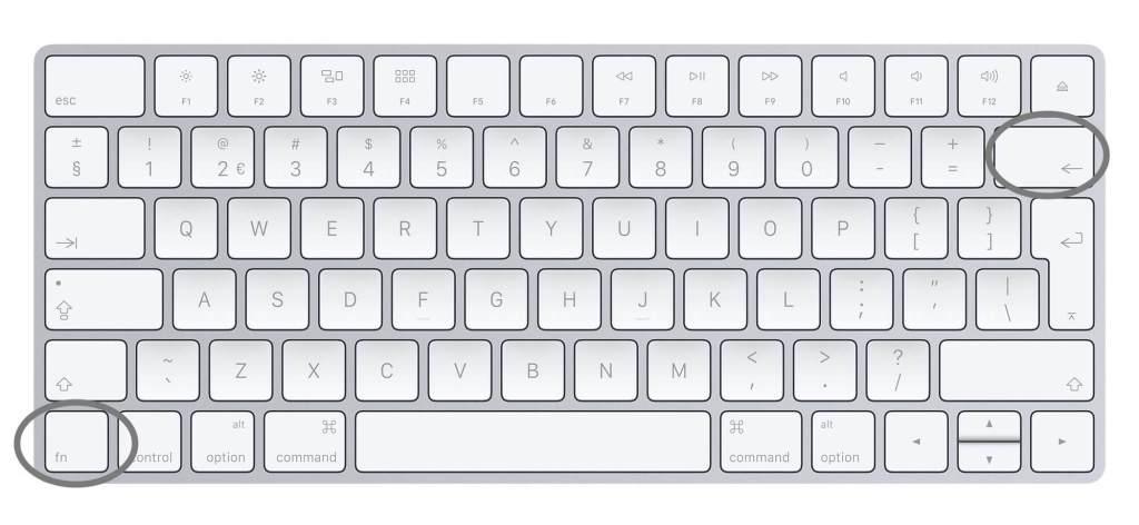 delete-toets-mac