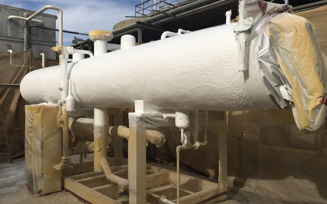 Recent Project: Ammonia Chiller Insulation In Madera CA