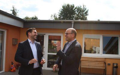 FDP-Spitzenkandidat trifft Mittelstandspreisträger