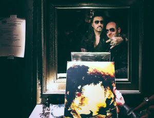 """Franck with """"Le Boucanier"""" at Bus Palladium venue, Paris, France"""