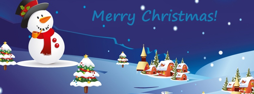Merry Christmas Facebook Cover Merry XMAS Messages And
