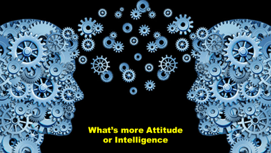 Photo of Here's why your attitude is more important than your intelligence