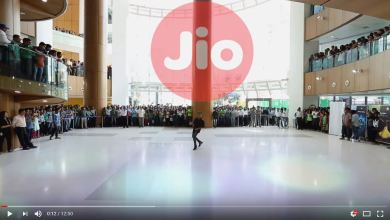 Jio Flash Mob at Office