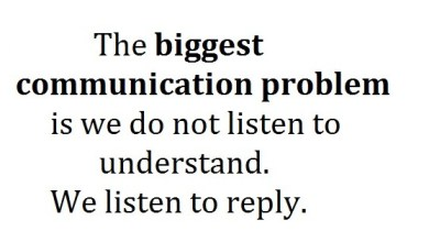 Photo of Great Leaders are Great Listeners!