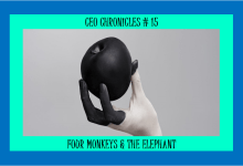 Photo of CEO Chronicles # 15 : Four Monkeys & An Elephant