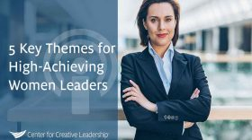 Photo of 5 Key Themes for High-Achieving Women Leaders
