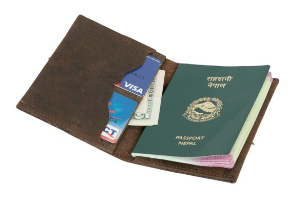 Leather Executive Passport Cover