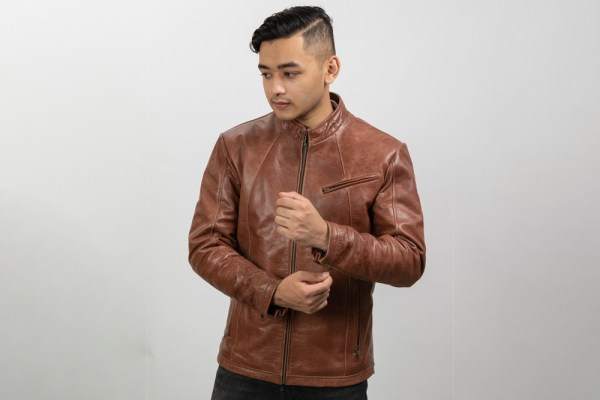 Humanfitcraft Genuine Leather Forthright Biker Jacket