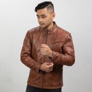 Humanfitcraft Genuine Leather Forthright Biker Jacket