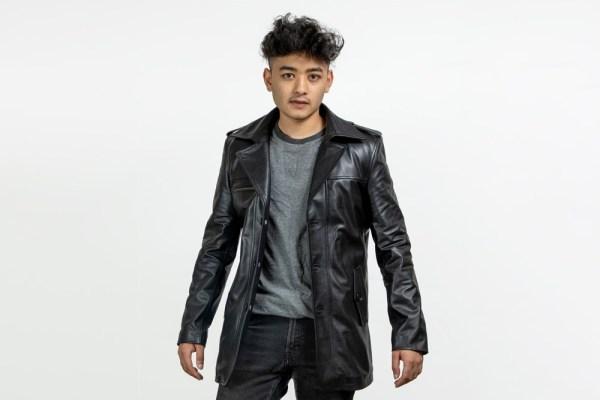 Splendid Leather Coat