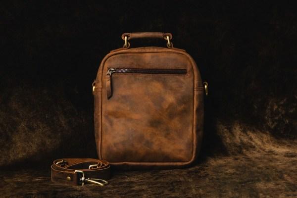 Hunter Leather Side Bag From Bag