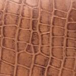 Brown Croco Print