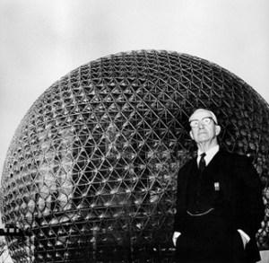 Buckminster Fuller tensegridad