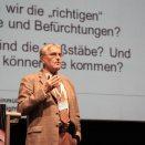 """Dr. Karlheinz Steinmüller hielt den Eröffnungsvortrag """"Homo sapiens 2.0 – Zukunftsvisionen zwischen Wunschtraum und Alptraum"""" Foto: HMA / A. Platzek"""