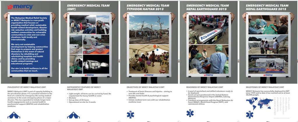 MERCY Malaysia Collateral Materials by Humanitarian Capital
