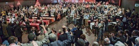 Certains signataires avaient déjà paraphé l'un des quatre textes «    alternatifs » proposés lors du congrès de 2016. Julien Jaulin/Hanslucas