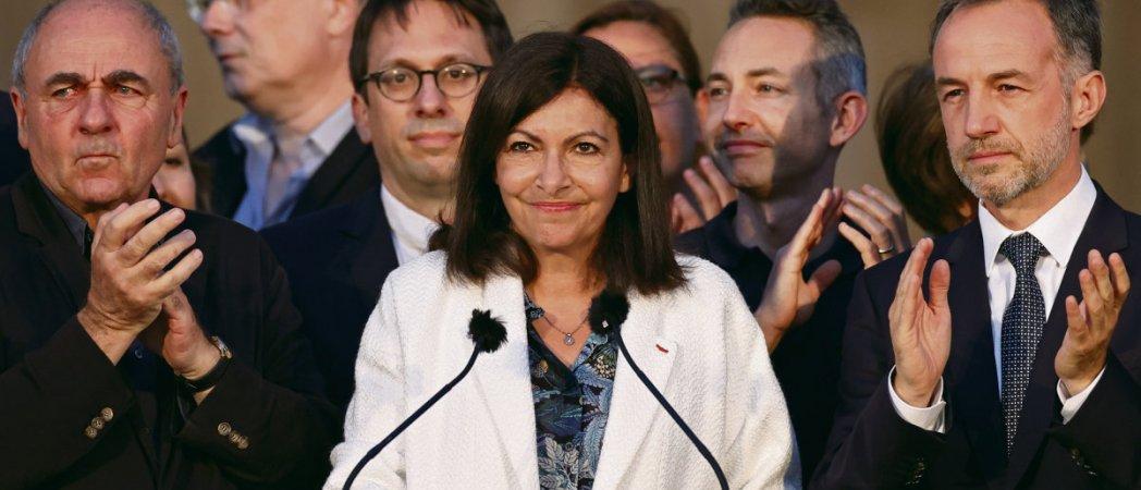 Paris Anne Hidalgo Remporte Une élection Capitale L