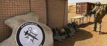 L'opération «Barkhane», lancée en 2014 par la France après les missions «Serval» et «Épervie», soit 5100 effectifs concentrés dans la partie orientale du Mali. © D. Benoit/AFP